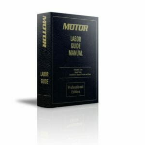 MOTOR Labor Guide Manual