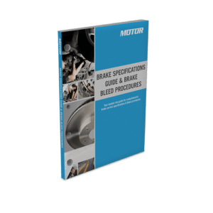 Brake Specifications Guide and Brake Bleed Procedures