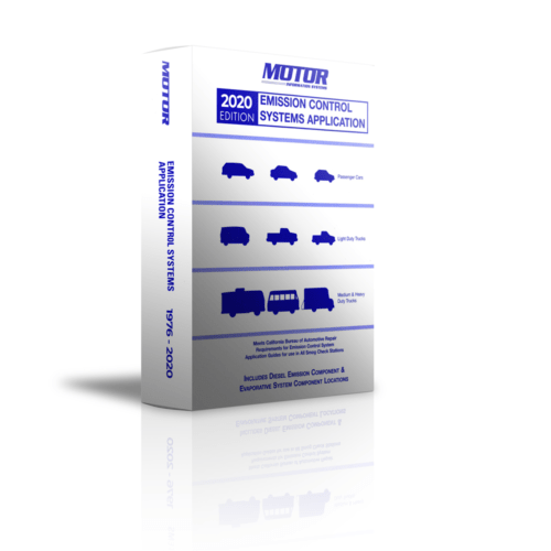 MOTOR 2020 Emission Control Systems Application Guide. California Smog Manual