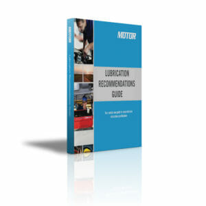 MOTOR Lubrication Recommendation Guide