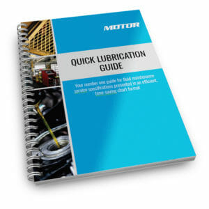 MOTOR Quick Lubrication Guide