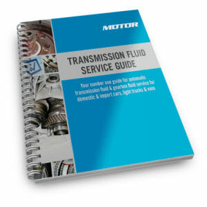 MOTOR Transmission Fluid Service Guide