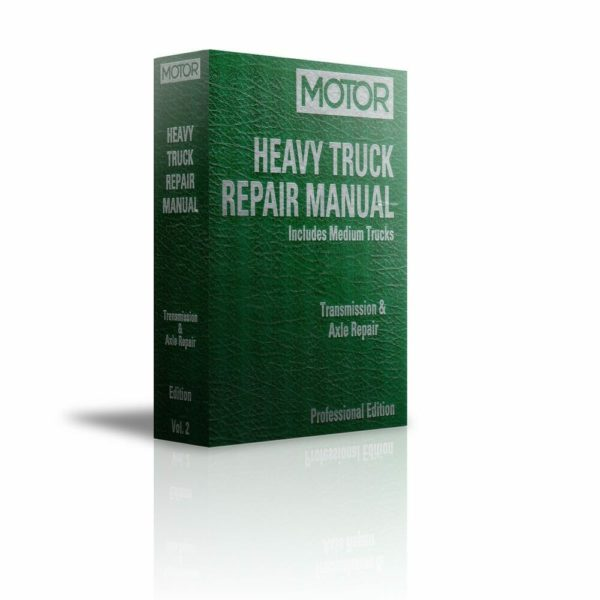 MOTOR Heavy Truck Repair Manual Transmission