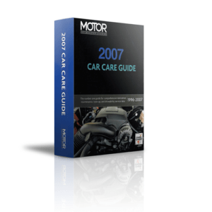 Motor Car Care Guide 1996 - 2007