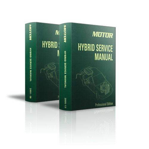MOTOR Hybrid Service Manual Bundle