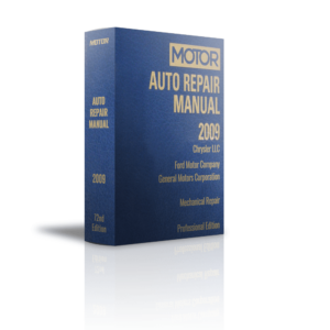 MOTOR Auto Repair Manual 2009 vol 1